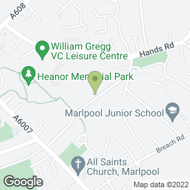 Map of United Response in Heanor, derbyshire