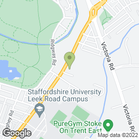 Map of E G Estates Ltd in Stoke-On-Trent, staffordshire