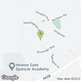 Map of A & E Joinery & Glazing Ltd in Heanor, derbyshire