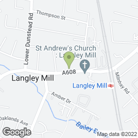 Map of Valentinos in Langley Mill, Nottingham, nottinghamshire