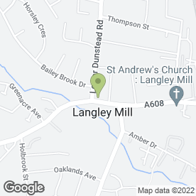 Map of MB Windows in Langley Mill, Nottingham, nottinghamshire