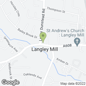 Map of Pattys Cob Shop in Langley Mill, Nottingham, nottinghamshire