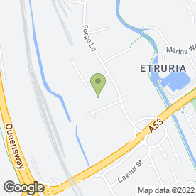 Map of EWD Hair & Beauty in Stoke On Trent, staffordshire