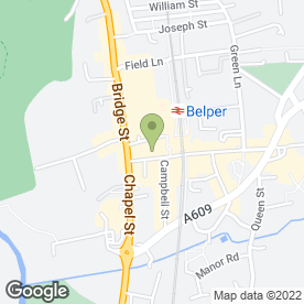 Map of Trade Services (Belper) in Belper, derbyshire