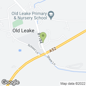 Map of Old Leake Medical Centre in Old Leake, Boston, lincolnshire