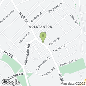 Map of Eve's Collection in Wolstanton, Newcastle, staffordshire