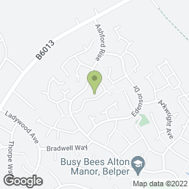 Map of DELICIOUS DESIGNS in Belper, derbyshire