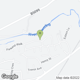 Map of Steve Youd in Rhostyllen, Wrexham, clwyd