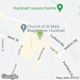 Map of Specsavers Hearing Centres in Nottingham, nottinghamshire