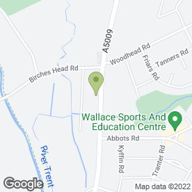 Map of Hulton House Surgery in Stoke-On-Trent, staffordshire