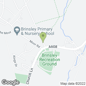 Map of Ashby Window Repairs in Brinsley, Nottingham, nottinghamshire