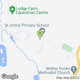 Map of Moorlands Tree & Groundcare in Wetley Rocks, Stoke-on-Trent, staffordshire