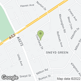 Map of Stoke UTA Taekwondo in Stoke-On-Trent, staffordshire