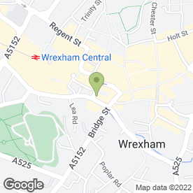 Map of Wrexham & Prestige Taxis in Wrexham, clwyd