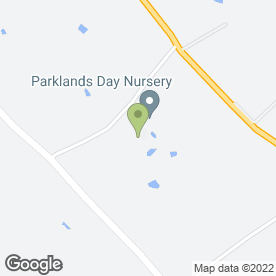 Map of Parklands Day Nursery in Stapeley, Nantwich, cheshire