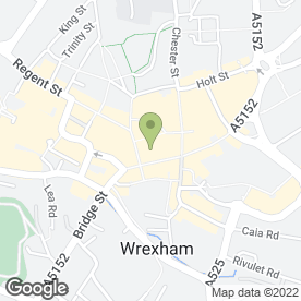 Map of Zenna's Beauty Boutique in WREXHAM, clwyd