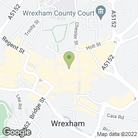 Map of Covent Garden Florists in Wrexham, clwyd