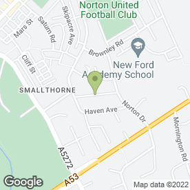 Map of 1st Allan Bailey Locksmith in Smallthorne, Stoke-On-Trent, staffordshire