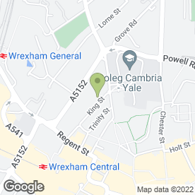 Map of Mortgage Advice Bureau in Wrexham, clwyd