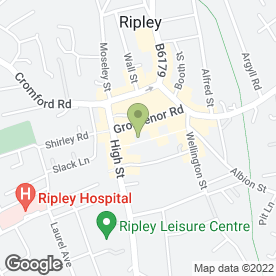 Map of Currys in Ripley, derbyshire