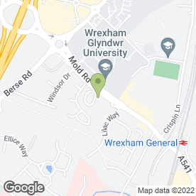 Map of Shell UK Ltd in Wrexham, clwyd