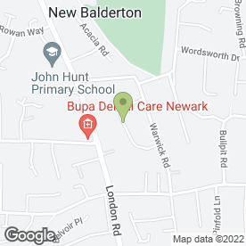 Map of Blackman Electrical in Balderton, Newark, nottinghamshire