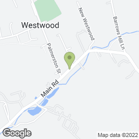 Map of Five Star Cleaning Supplies in Westwood, Nottingham, nottinghamshire