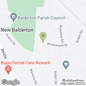 Map of Buildeco in Balderton, Newark, nottinghamshire