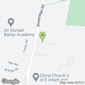 Map of Newark Storage Co. Ltd in Newark, nottinghamshire