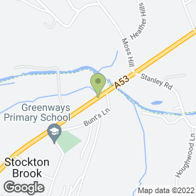 Map of Thompson Digital Solutions in Stoke-On-Trent, staffordshire