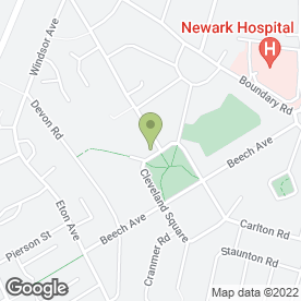 Map of K.W Electrical in Newark, nottinghamshire