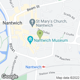 Map of Magpie Crafts in Nantwich, cheshire