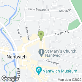 Map of Oriental Magic in Nantwich, cheshire
