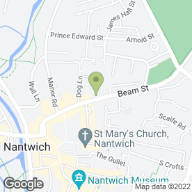 Map of Ableworld Ltd in Nantwich, cheshire