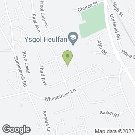 Map of First Choice Landscapers in Gwersyllt, Wrexham, clwyd