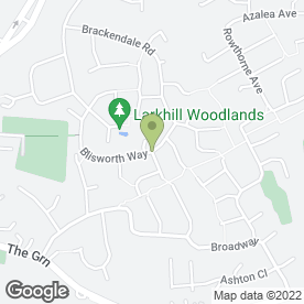 Map of Dawe Design Ltd in Swanwick, Alfreton, derbyshire