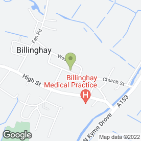 Map of Applion Power Ltd in Billinghay, Lincoln, lincolnshire