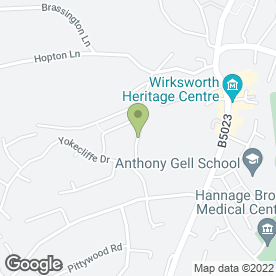 Map of Peter G Shore in Wirksworth, Matlock, derbyshire
