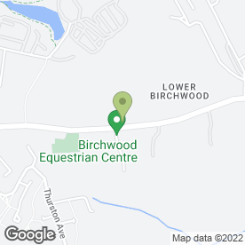 Map of Birchwood Motor Co in Somercotes, Alfreton, derbyshire
