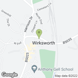 Map of Milltech Garage in Matlock, derbyshire