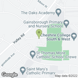 Map of D.S.Greenwood Photography in Crewe, cheshire