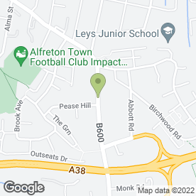 Map of J Singleton & Son in Alfreton, derbyshire