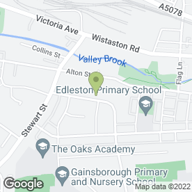 Map of Tinks Childrens Day Nursery Ltd in Crewe, cheshire