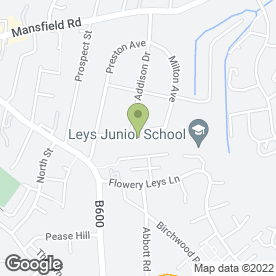 Map of James Riley Plastering in Alfreton, derbyshire