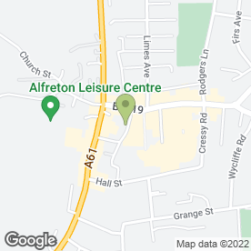 Map of Alfreton Sales & Exchange in Alfreton, derbyshire
