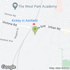 Map of XTC Discos Ltd in Mansfield, nottinghamshire