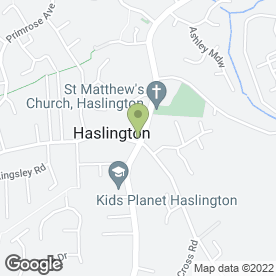 Map of Champion House Chinese Takeaway in Haslington, Crewe, cheshire