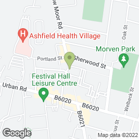 Map of Flawless Beauty in Sutton-In-Ashfield, nottinghamshire