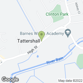 Map of AJF Locksmiths in Tattershall, Lincoln, lincolnshire