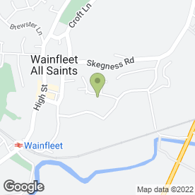 Map of 1st choice cabs in Wainfleet, Skegness, lincolnshire